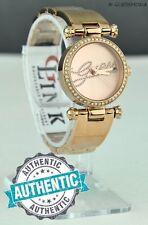 Nuevo Auténtica Reloj GUESS Rose Gold Acero U0287L3