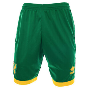 OFFICIAL NORWICH CITY FC REPLICA 2018-19 HOME SHORTS - KIDS