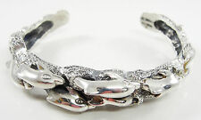 Kabana Sterling Silver Dolphin Cuff Bracelet 3 D Sealife