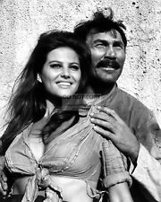 """CLAUDIA CARDINALE AND JACK PALANCE IN """"THE PROFESSIONALS"""" - 8X10 PHOTO (OP-960)"""