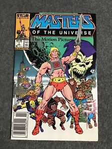 Masters of the Universe Motion Picture  #1 VF+ 8.5 1987