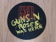 GUNS 'N' ROSES - WAS HERE (NEW) TT SLIPMAT OFFICIAL BAND MERCHANDISE