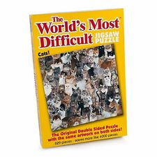 Worlds Most Difficult 529 Piece Cats Jigsaw Puzzle