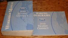 Original 2010 Ford Transit Connect Shop Service Manual + Wiring Diagrams Set 10