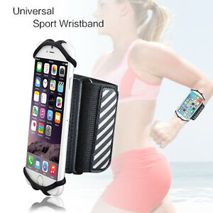 Wrist Forearm Band i Phones Holder for 4.5 - 6 Inch phones with Reflective Strip