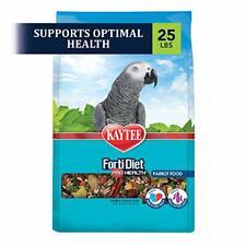 Kaytee Forti Diet Pro Health Bird Food For Parrots, 25-Pound