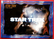 "STAR TREK TOS 50th Anniversary - ""THE CAGE"" - GOLD FOIL Chase Card #1"