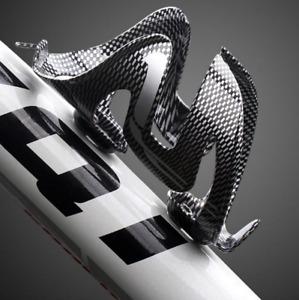 New Carbon Fiber Bicycle Bike Road MTB Bike Drink Water Bottle Cage Holders