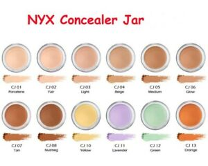 NYX Concealer Jar Above & Beyond,  Pick your shade