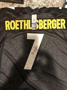 Ben Roethlisberger Autographed Jersey