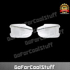 Fit 2009-2015 Honda Pilot Full Chrome Mirror Covers With Turning Signal Cut Out