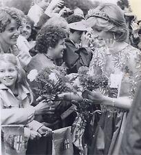 Princess Diana Photo Edmonton Alberta canada