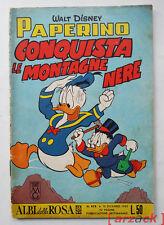 ALBI DELLA ROSA n 475 MONDADORI 15/12/1963 Walt Disney