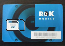 BULK LOT 25 ROK MOBILE SIM's for the AT&T network Choose 4G Plan at rokmobile