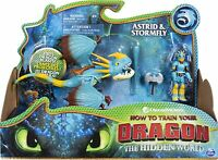 How To Train Your Dragon Hidden World Astrid Stormfly Action Figure Toy New