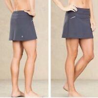 ATHLETA Womens RELAY Skort Built-in Streamlined Shorts Running Gray Size Small