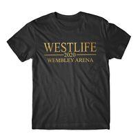 West Life Twenty Tour Wembley Adults Kids Womens Christmas Funny Tee Top