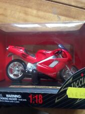 MAISTO 39305 HONDA NR MOTORBIKE IN RED 1:18 SCALE DIECAST MOTORCYCLE