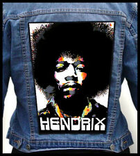 JIMI HENDRIX   --- Giant Backpatch Back Patch