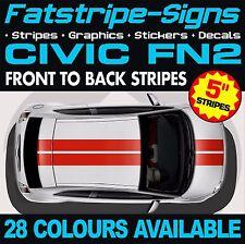 HONDA Civic FN2 ADESIVI DECALCOMANIE GRAFICHE STRISCE Tipo VTEC R S 1.6 2.0 JAP Mugen