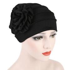 Fashion New Women Cotton Flower Hat Cancer Chemo Beanie Baggy Cap Turban Hijab