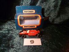 Matchbox MB-14 Grand Prix Red Racing Car With Original Box