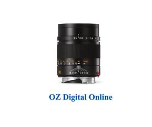 New LEICA SUMMARIT-M 90mm f/2.4 (Black)