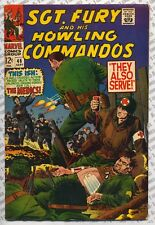 Sgt. Fury and His Howling Commandos #46 (1967) Fine (6.0) ~ Marvel Comics