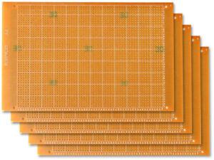 2 Stk Lochraster Platine Leiterplatte PCB Experimentierplatine 5x7cm FR4
