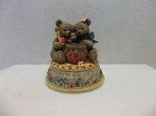 Honey Bear Musical Figurine - 1996 - Marjorie Sarnat
