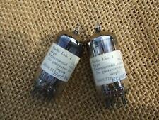 Philips Amperex Holland ECF86 Qty. 2 Experimental Tube Prototype Valves