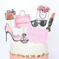 Pretty Girl Bikini Birthday Cake Topper DIY Cupcake Decoration Girl Gift Pa Px