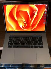 """MacBook Pro 15"""" late 2016 Touch Bar in Space Grey"""