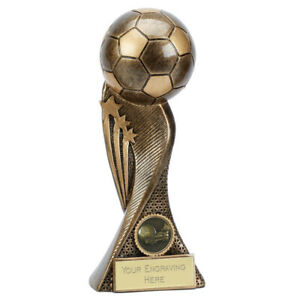 Football Trophy 4 sizes With Free Engraving up to 45 Letters