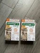 (2 Boxes) Advantage Ii Flea Prevention Spot-On Treatment Small Cats - Pack of 6