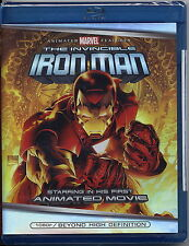 NEW THE INVINCIBLE IRON MAN ANIMATED MOVIE BLU-RAY 1080P