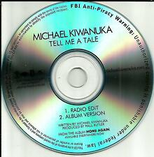 MICHAEL KIWANUKA Tell Me a tale w/ RARE EDIT TST PRESS PROMO DJ CD single 2012