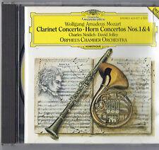 Mozart: Clarinet Concerto; Horn Concertos Nos. 1 & 4 by Charles Neidich, David J
