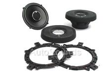 "Infinity Kappa 62.11i 450 Watt 6.5"" Coaxial 2-Way Car Audio Speakers 6-1/2"" New"
