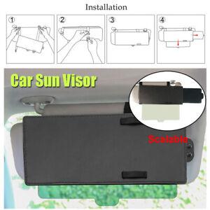 31-58.5CM Car Sun Visor Shade Ray Blocker Windshield Extendable Anti Glare Auto