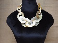Natural Buffalo Horn Material Jewelry Necklace