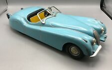Vintage Doepke Model Toys Jaguar / Metal - Blue Convertible - Rossmoyne Ohio