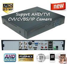 Sunvision CCTV 4 Ch AHD 3MP Hybrid DVR for AHD/TVI/CVI/CVBS/ IP Camera, no HDD