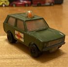 Vintage Matchbox Lesney Rolamatics #20 Rare Police Patrol Ambulance 1975 Army ++