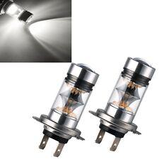 2 x Bombillas Intense H7 4200K Faros Lamparas Luz Coche 100W 12-24V