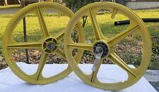 1980s BMX MAG-LITE SATE-LITE 20inch Mag Wheel set redline huffy gt murray dyno