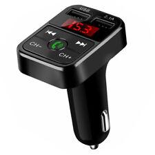 Bluetooth Coche Transmisor Fm MP3 Reproductor Manos Libre Radio Adaptador de USB