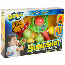 New Jacks Surge Slingshot Target Game x6 easy load balls x3 target boards 5+