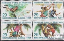 Mikronesien 352-355 Blok van vier (volledige uitgave) postfris MNH 1994 Mikrones