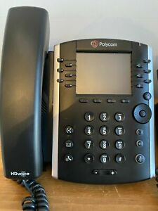 Polycom VVX411 VOIP Business Media Phone - POE - 3 Months Warranty